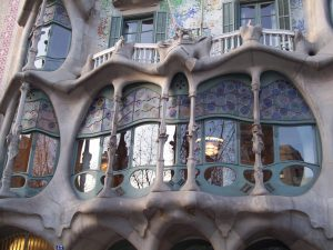 Antoni Gaudí, Casa Batlló, 1905-1907, Barcelona, anonymous photo